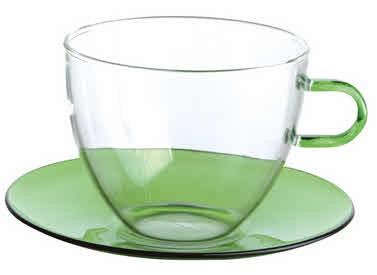 Teetassen mit Teller 4 Stück