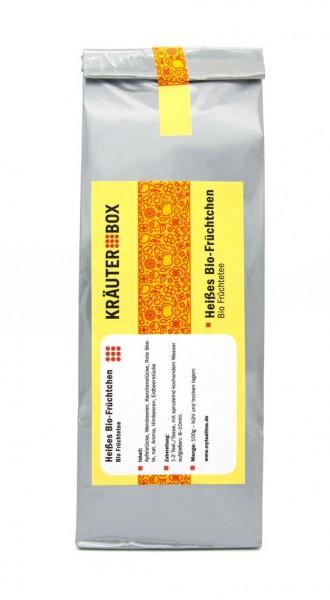 Heißes Bio-Früchtchen Tee