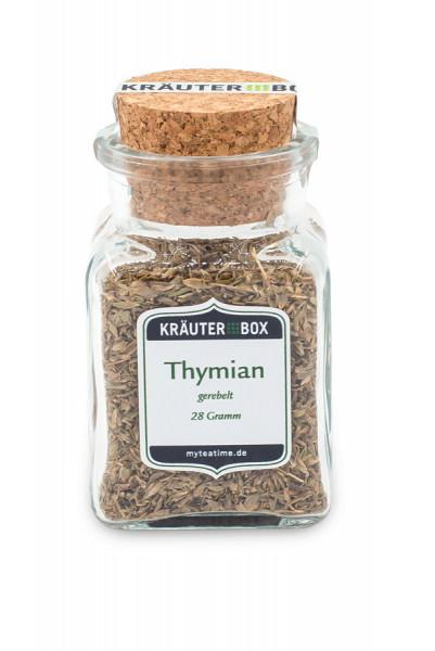 Thymian Kräuterbox-Gewürze