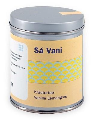 Kräuterteemischung mit Vanille-Lemongras