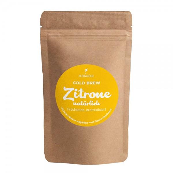Tee-Kaltgetränk Cold Brew Zitrone